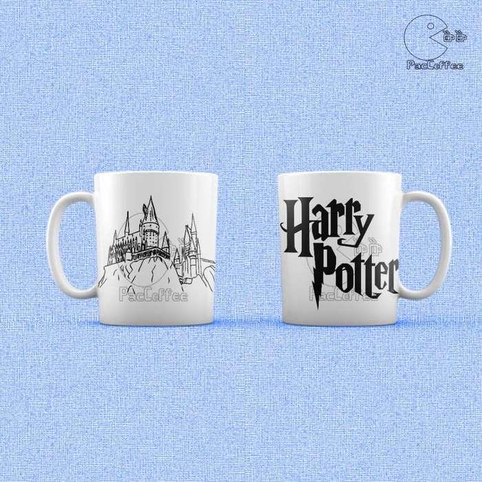Tazas Ceramica De Series Y Peliculas Caja - Harry Potter , Star Wars , GOT , Stranger Things -