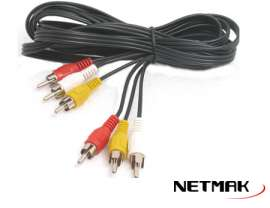 Cable Audio Y Video Rca