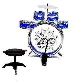Bateria musical infantil para niños 5 tambores Nueva!