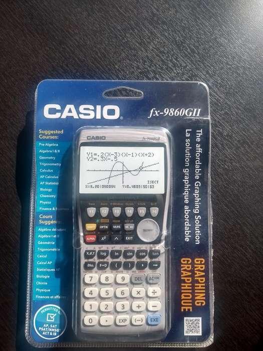 Calculadora Casio Fx 9860 GI II Bachillerato Internacional