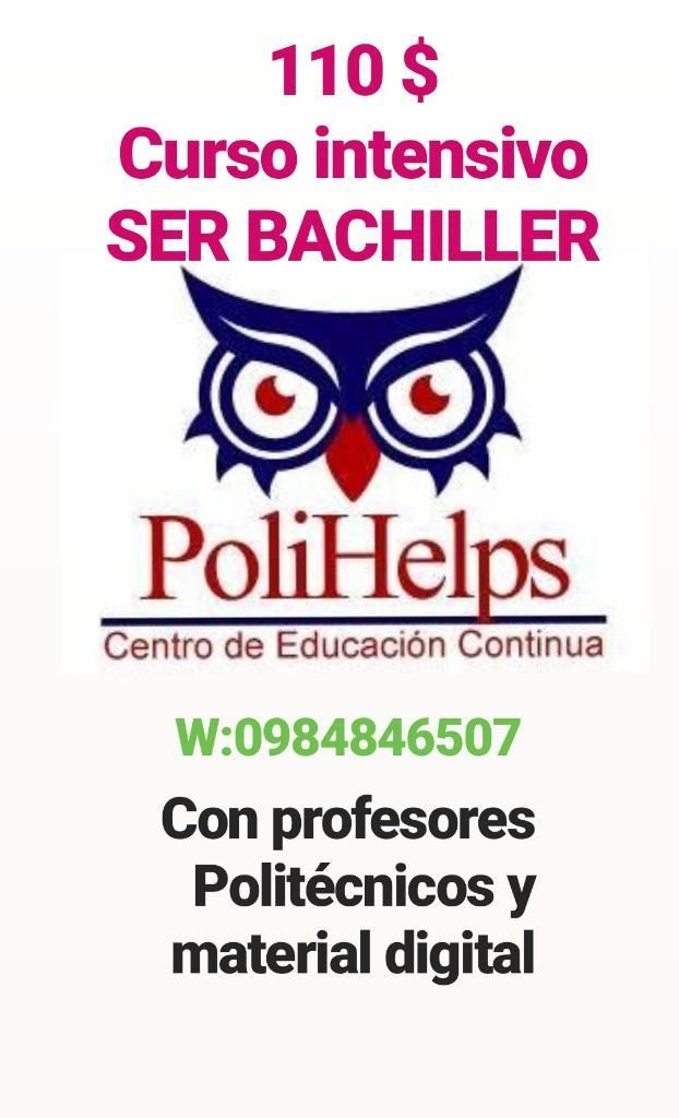 Curso Ser Bachiller Y Clases Particulare