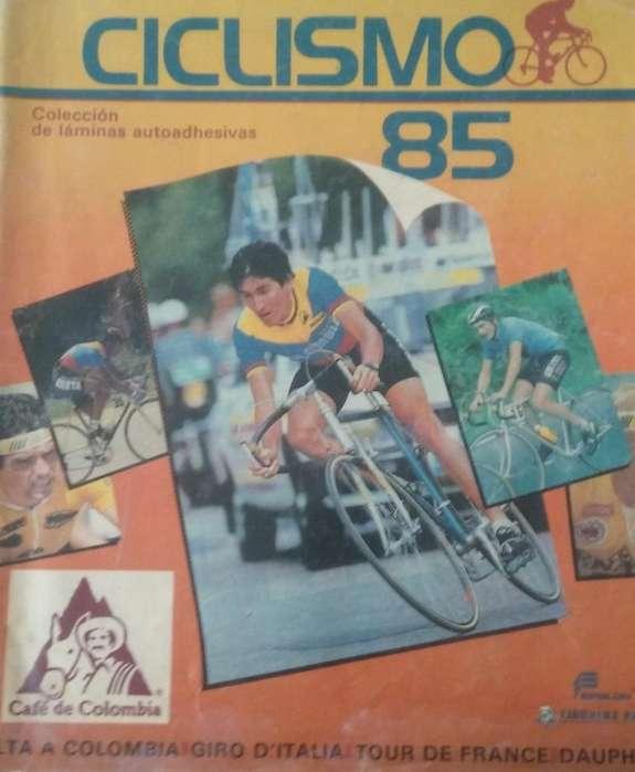 Album Ciclismo 1985