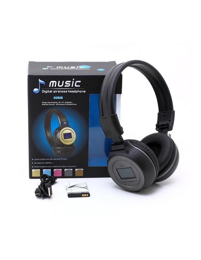 Diadema Audifono Music Bluetooth N65