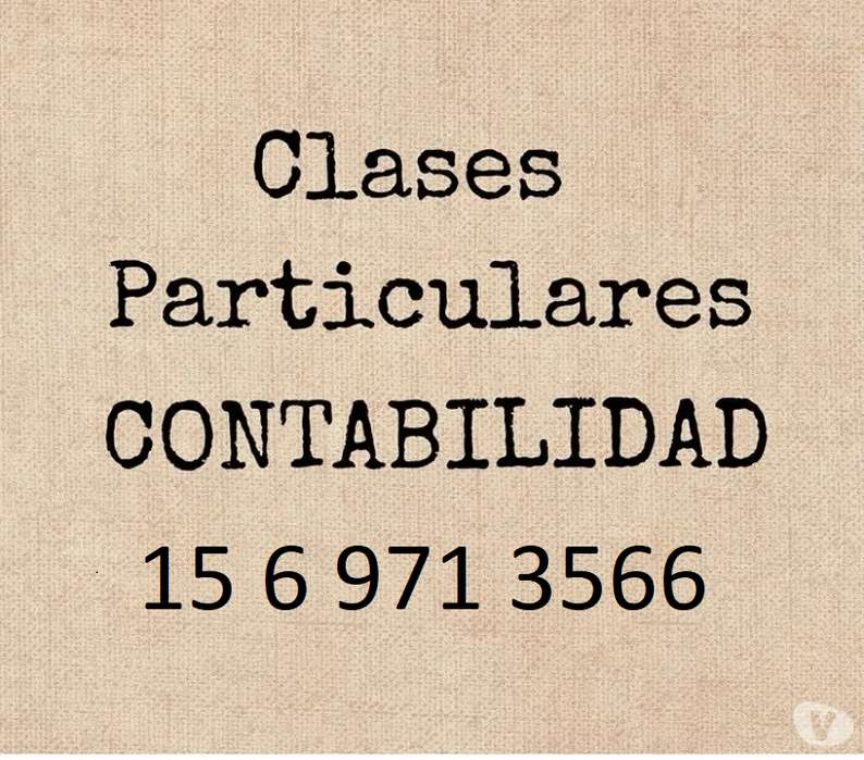 CLASES PARTICULARES 1569713566(100 LA HORA)