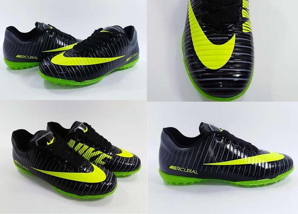 Guayos para Microfutbol Nike Mercurial ContraEntrega GRATIS