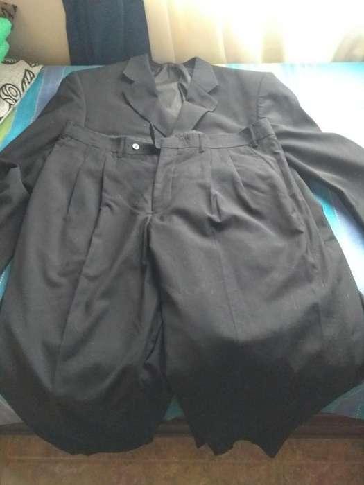 <strong>traje</strong> saco y pantalón negro