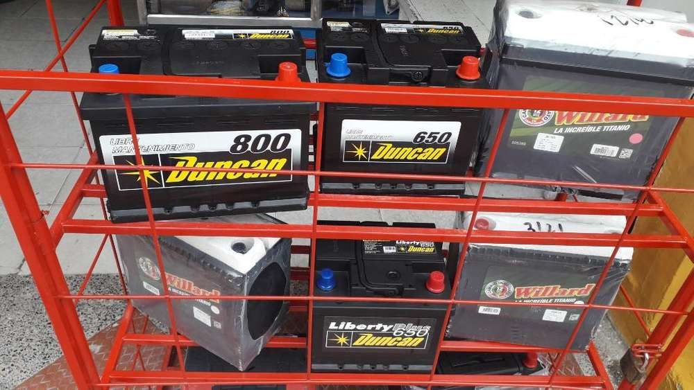 Baterias Willard Y Duncan