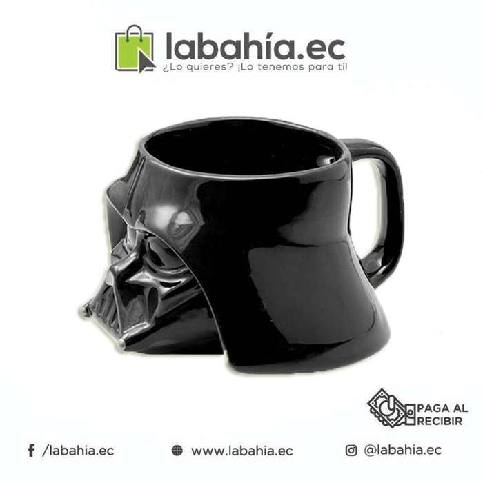 Taza de cerámica Darth Vader