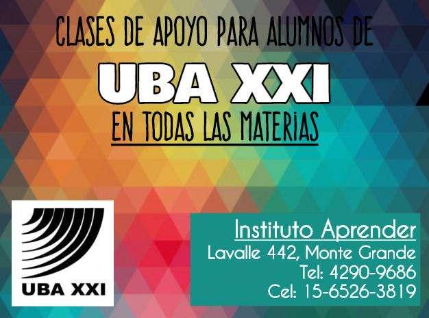 Clases de apoyo para alumnos de uba XXI en Monte Grande