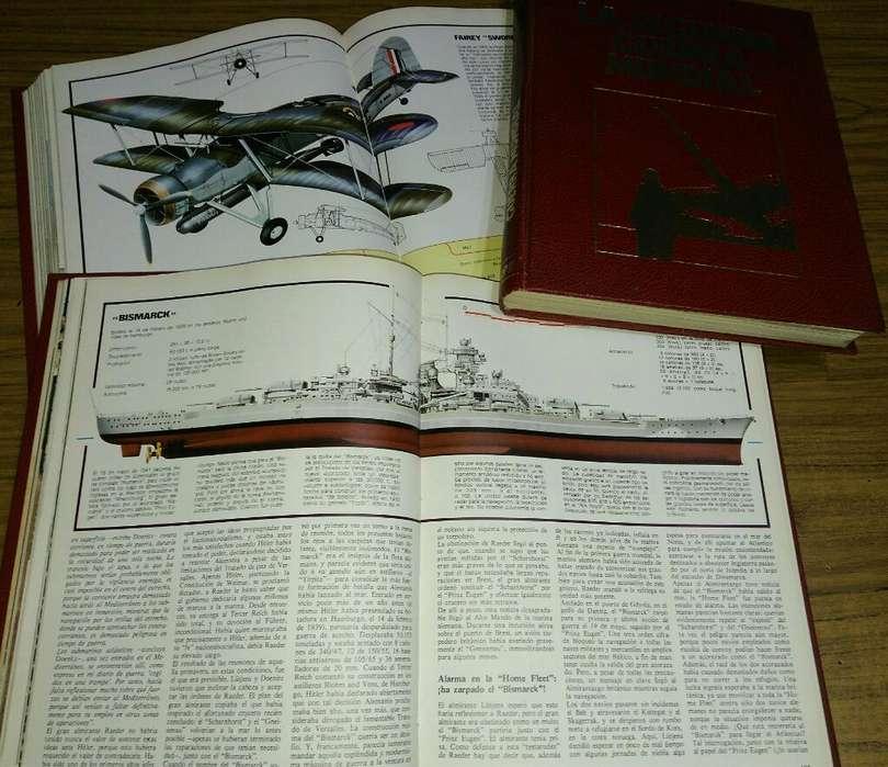 Libros Segunda Guerra Mundial 6 Tomos