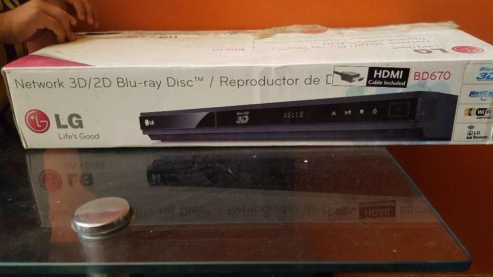 Bluray 3d Dvd Mp3 con Usb