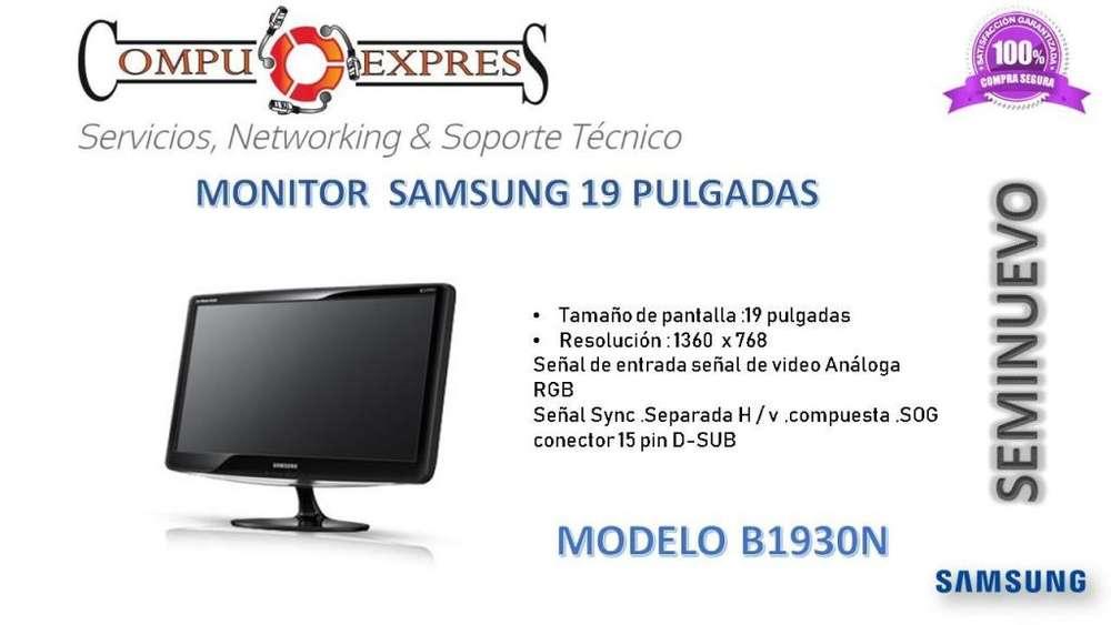 <strong>monitor</strong> Samsung 19 Pulgadas Seminuevo