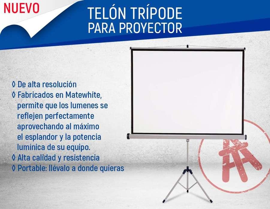 PANTALLAS DE TRIPODE PARA PROYECCION DE CUALQUIER MEDIDA