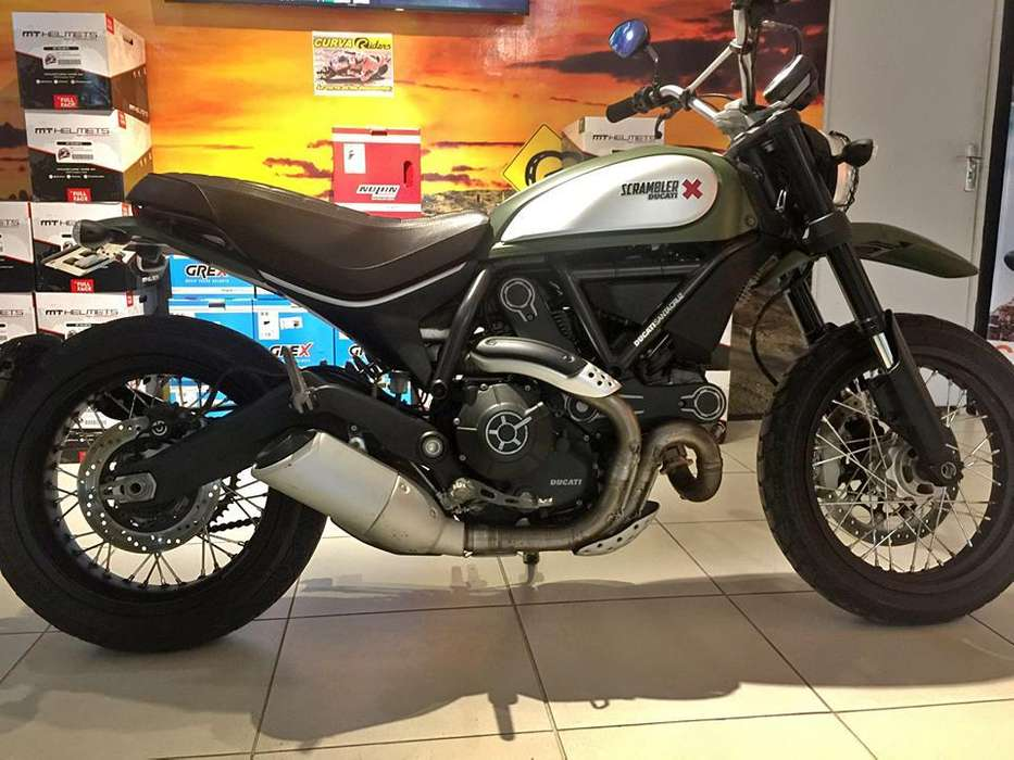 DUCATI SCRAMBLER URBAN ENDURO 2015 IMPECABLE!!!
