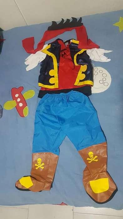 Disfraz Jake El Pirata Talla 2