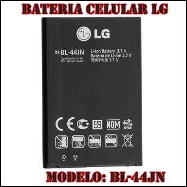 Bateria LG BL44JH L3 L5 E400 E610