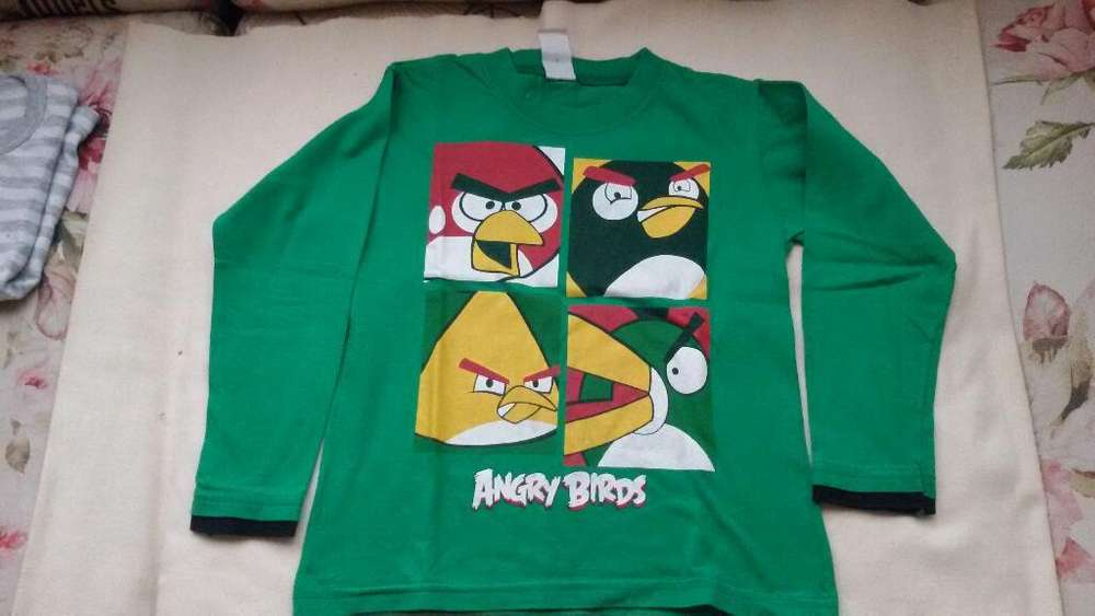 Remera Angry Birds Talle 6