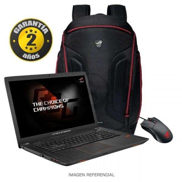 LAPTOP ASUS ROG GL753V/GAMER/RAM 16 GB DDR4/VIDEO 4GB GTX 1050ti/SDD 256 y 1 TB HD/FULL HD/ARQ, ING, GAMERS