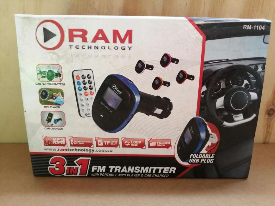 Modulador MP3 para vehiculo