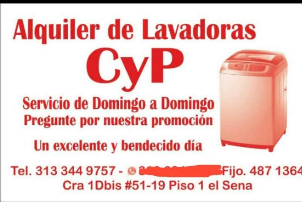 Alquiler de Lavadoras 3133449757