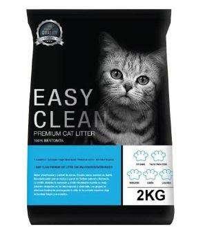 Arena premium para gatos Easy Clean - 2kg