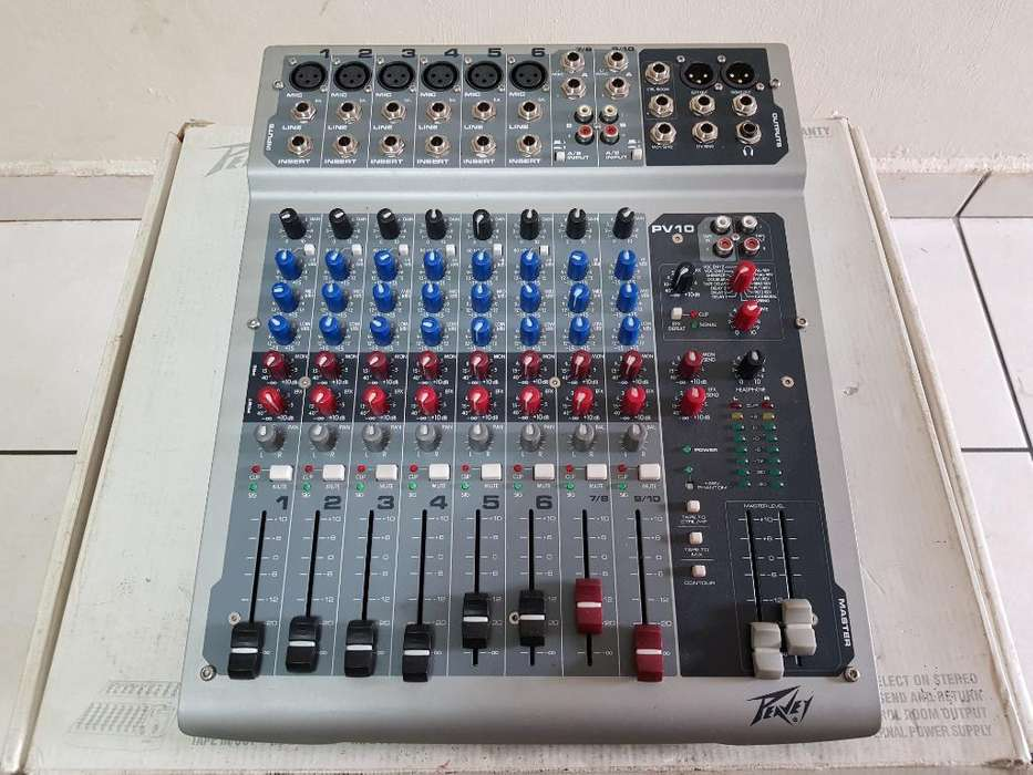 Mixer Peavey 10 Canales