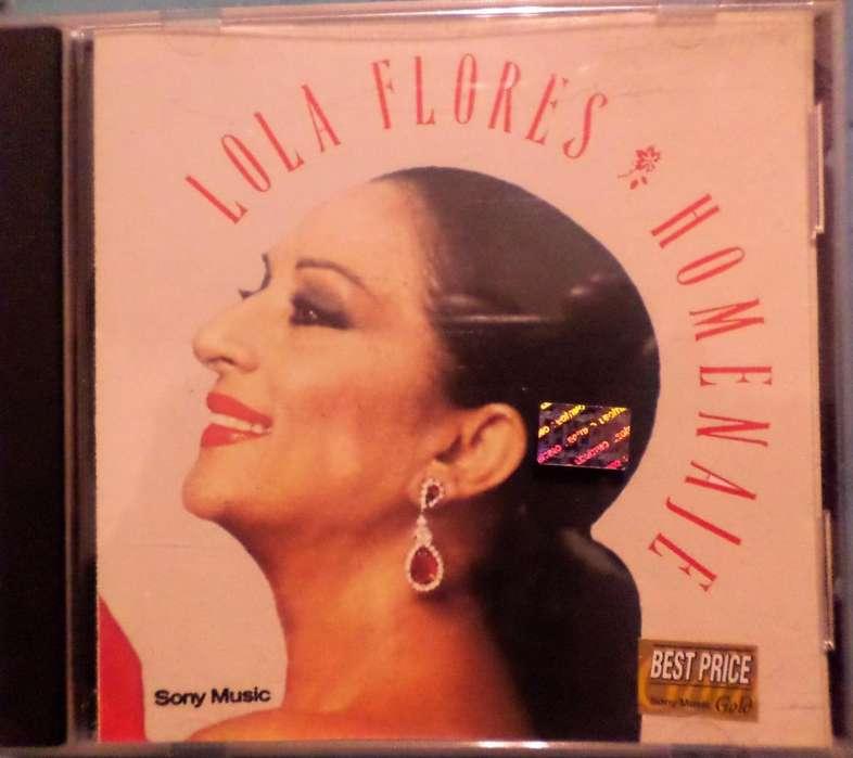 Lola Flores. Homenaje. Cd original. Impecable