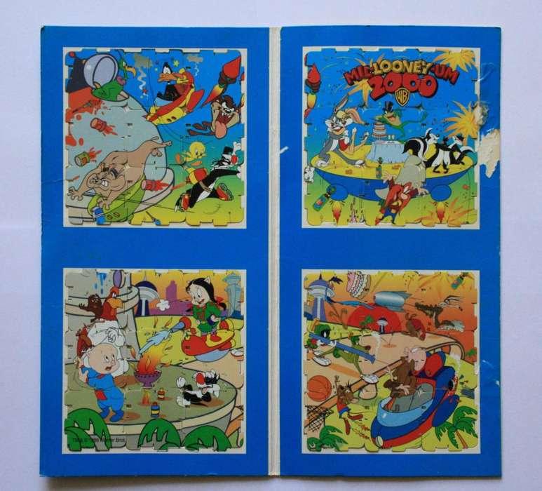 Colección Cubitazos Tazos Looney Tunes