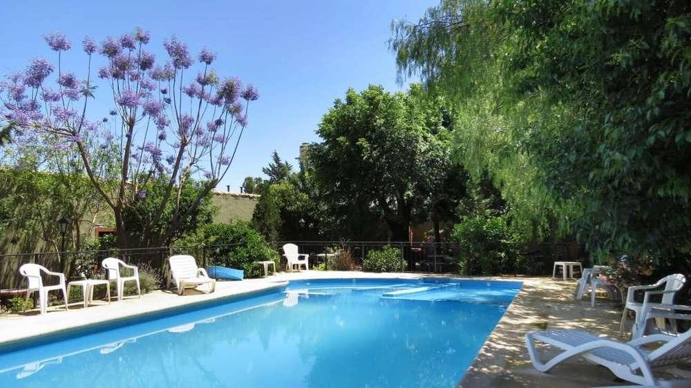 xn73 - Cabaña para 2 a 8 personas con pileta y cochera en Villa De Merlo