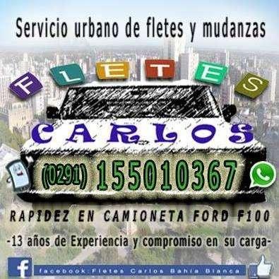 FLETES CARLOS RAPIDEZ ! 155010367 Fletes Mudanzas Traslados