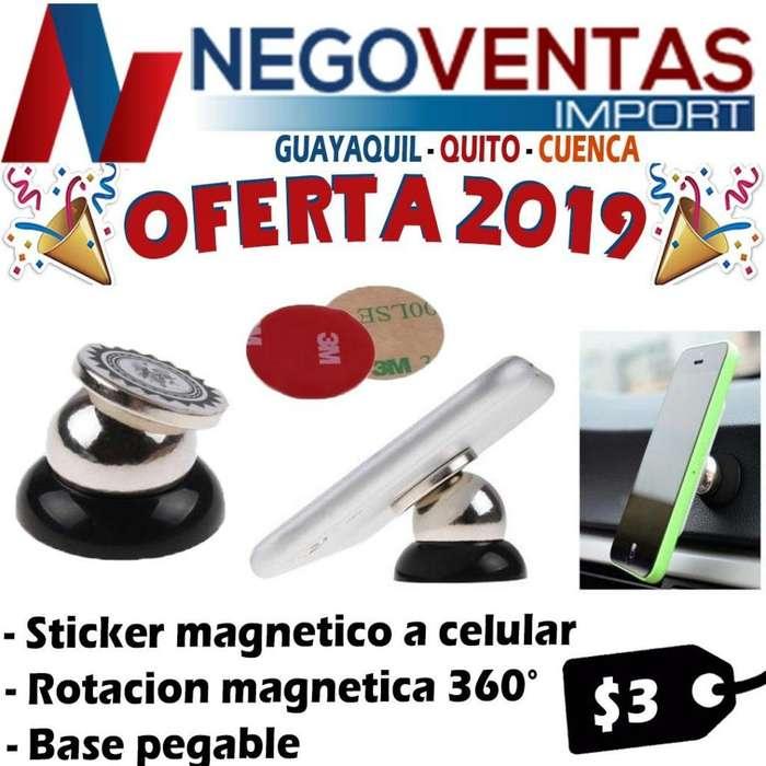 SOPORTE MAGNETICO PARA CELULARES DE OFERTA