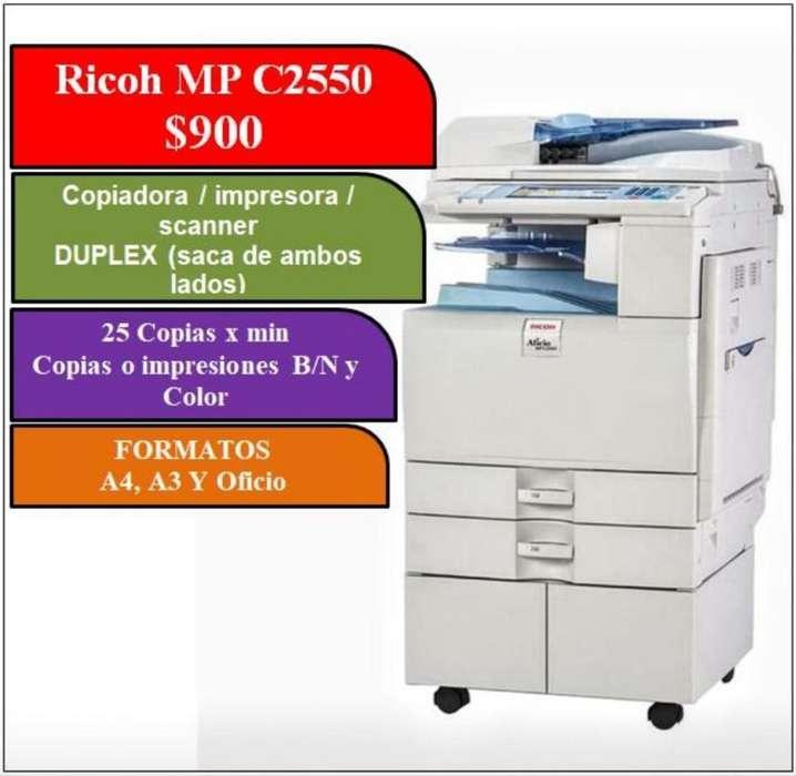 Copiadora - <strong>impresora</strong> Ricoh Mp C2550