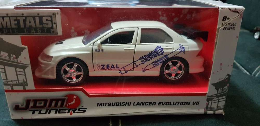 Mitsubishi Lancer Evo 7 Jada Escala 1:32