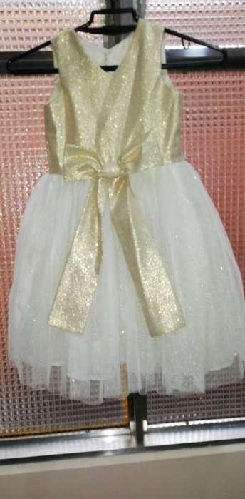 Vendo Vestido de Niña Talla 6