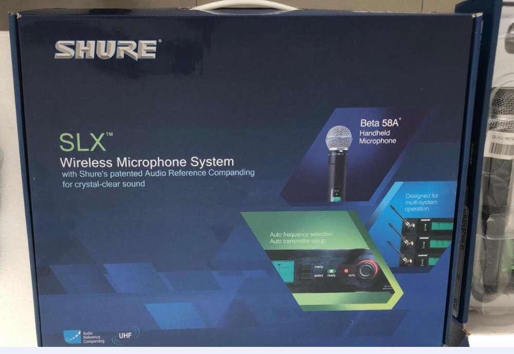 Microfono Shure SLX 58A