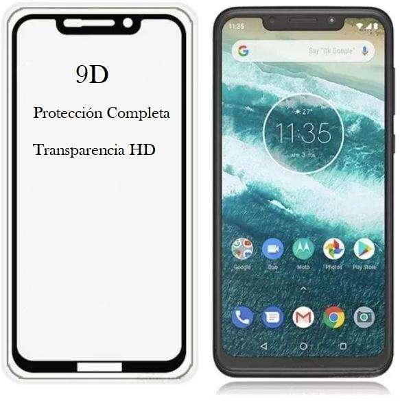 Vidrio 9d Full Cover Motorola Moto One - P30 Play