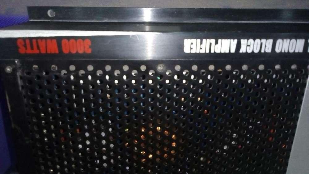 Amplificador Danom 3000.1