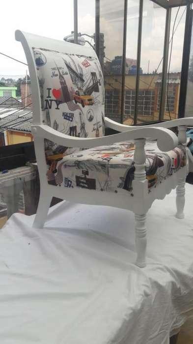 <strong>silla</strong> recien tapizada