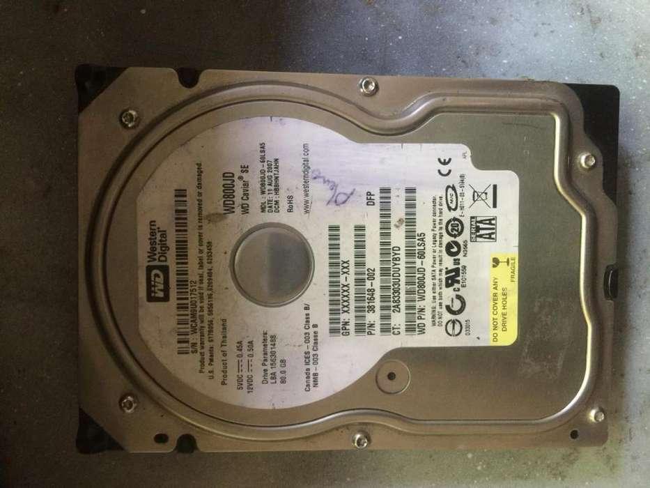 WENDSTER DIGITAL 80 GB ESCRITORIO