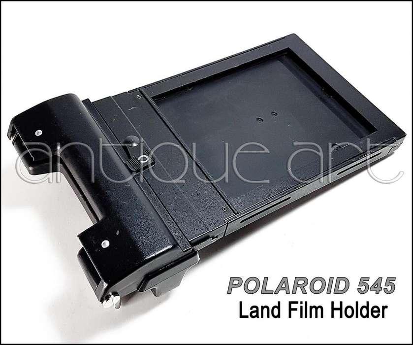 A64 Polaroid 545 Land Film Holder Placa 4x5 Camara Fuelle