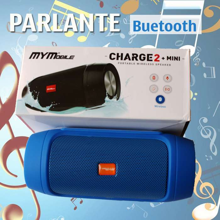 Parlante Bluetooth MyM CHARGE 2 MINI USB y Micro SD