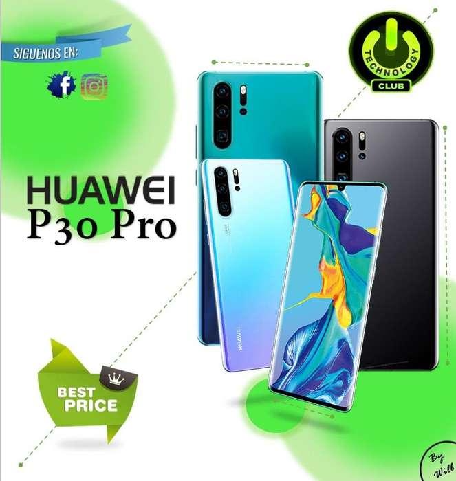 Huawei P30 Pro 50X 4 Camaras Entrega Inmediata Celulares sellados Garantia 12 meses / Tienda Fisica Centro Trujillo