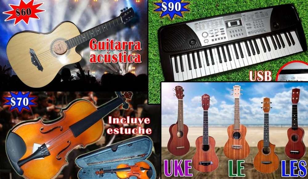 Instrumentos Musicales NUEVOS de OFERTA desde 50