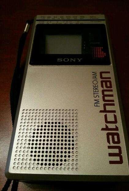 Televisor Y Radio Sony Made In Japón