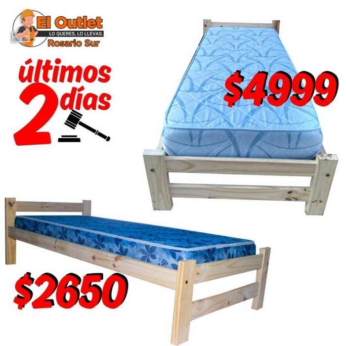 <strong>cama</strong>s de 1 plaza con colchon