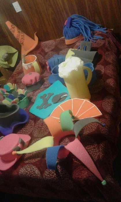 Vendo Gorras para Fiestas