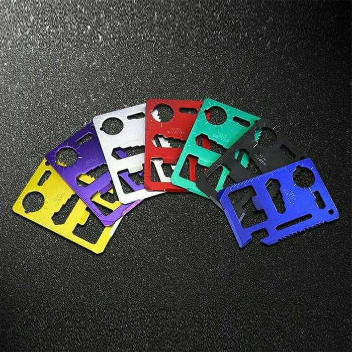 Tarjeta Multifunción 11 en Uno, a Colores
