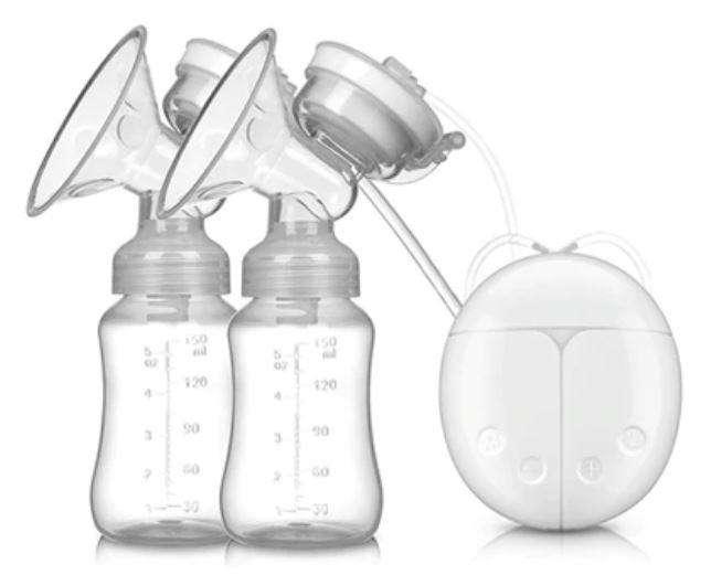Extractor Doble Leche Materna Electrico Lactancia libre de Bpa