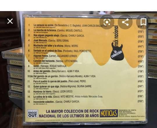 Coleccion rock nacional