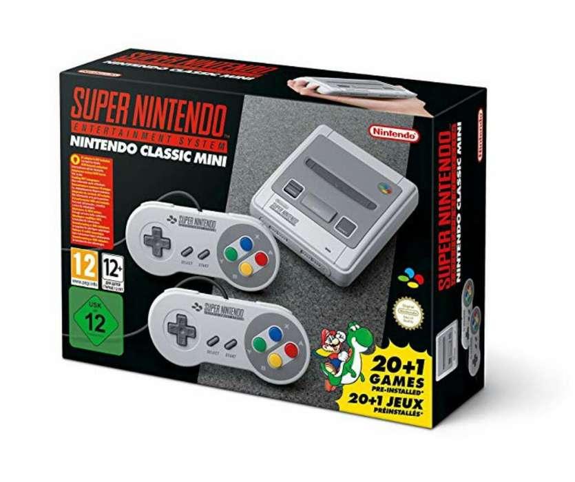 Super Nintendo Retro Juegos Incluidos